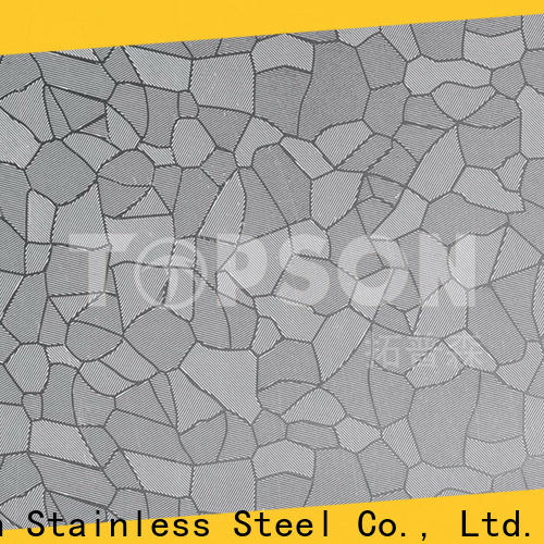 durable stainless steel decorative sheets blasted manufacturers for partition screens