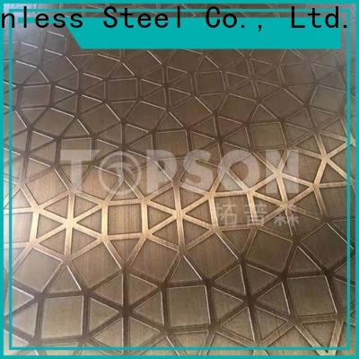 Topson durable steel plate decoration manufacturers for handrail