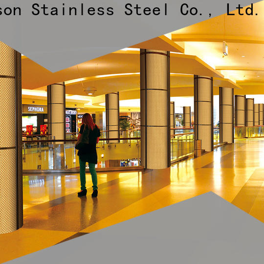 Topson elegant wall cladding profiles factory for shopping mall