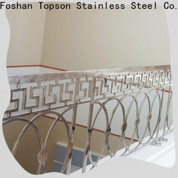 Topson handrail stainless steel railing price for office