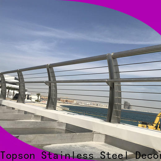 Topson railingsstainless stainless steel railing company for office
