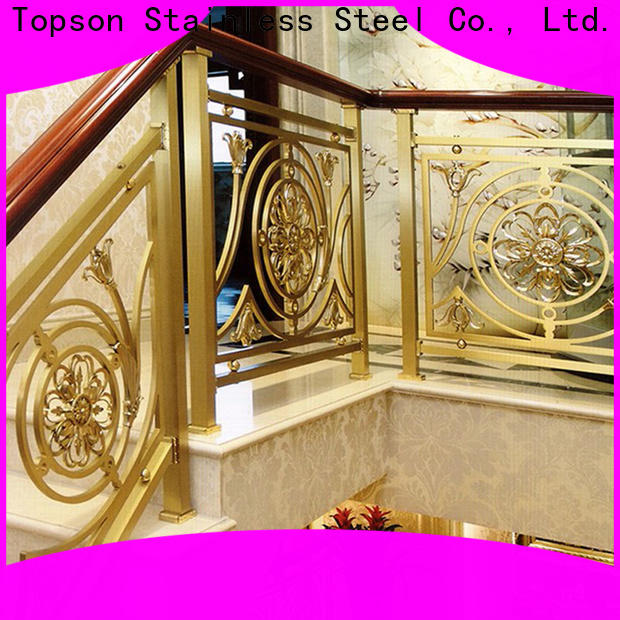 Topson steel stainless steel balcony handrail manufacturers