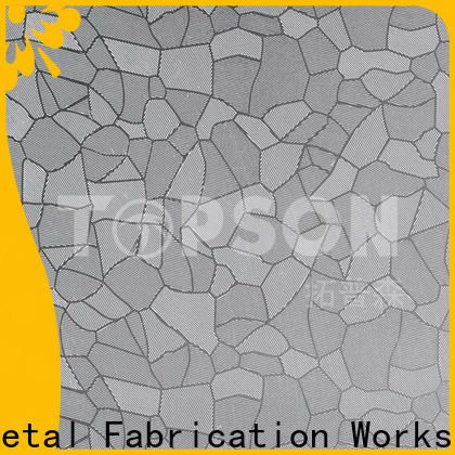 good-looking stainless steel sheet gauge thickness finish factory for partition screens