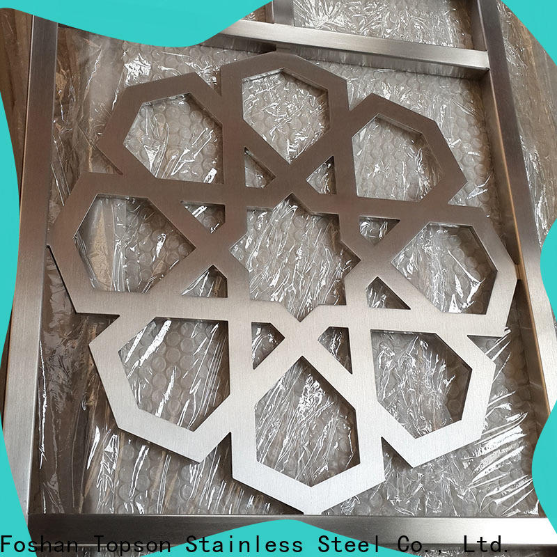 Topson High-quality fretwork screen panels for business for curtail wall