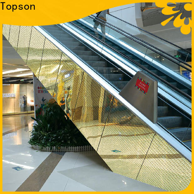 Topson New stainless steel roofing contractors factory price for elevator