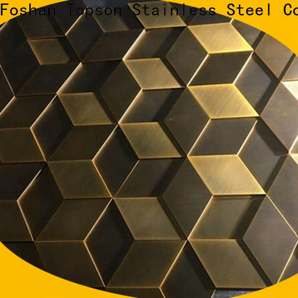 Topson steel sheet cladding systems for wall