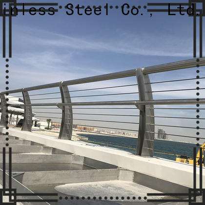 reliable stainless steel tubular handrail systems balcony manufacturers for building