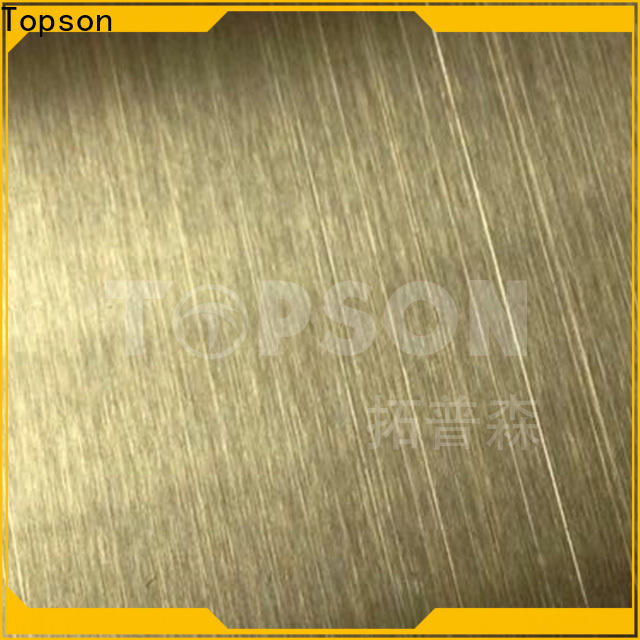 Topson High-quality stainless sheet sizes for business for furniture