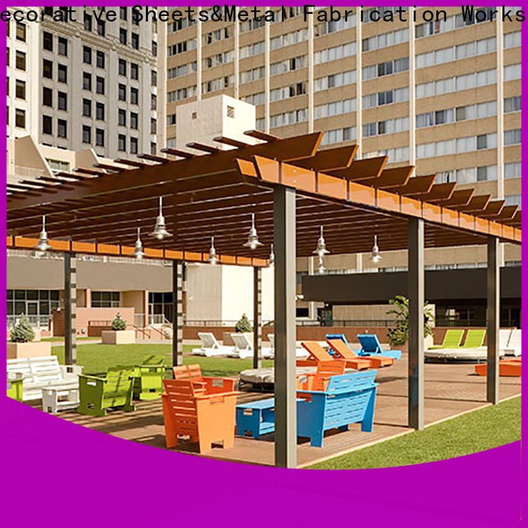 Topson stain resistance metal works custom fabrication Supply for garden