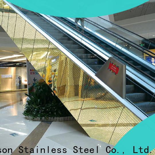 stainless steel facade panels & industrial metal doors with glass