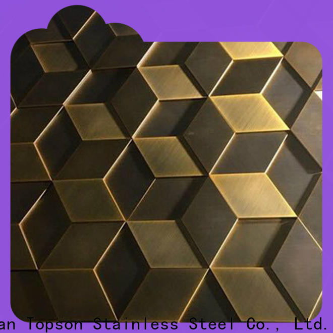 Topson external metal wall cladding panels for wholesale for lift