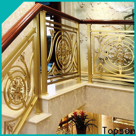 elegant steel cable staircase handrail factory for hotel