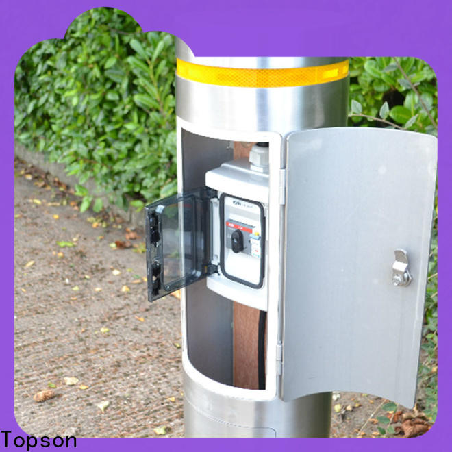 Topson steel bollard post sleeves company for building