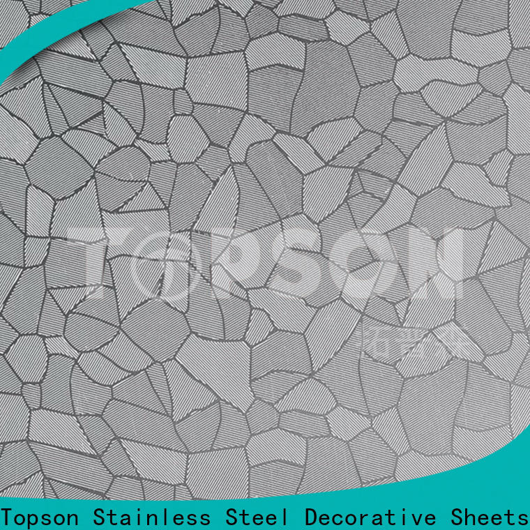 Topson Custom stainless steel decorative panels manufacturers for floor