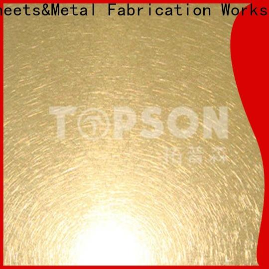 High-quality stainless steel decorative plate etching for vanity cabinet decoration