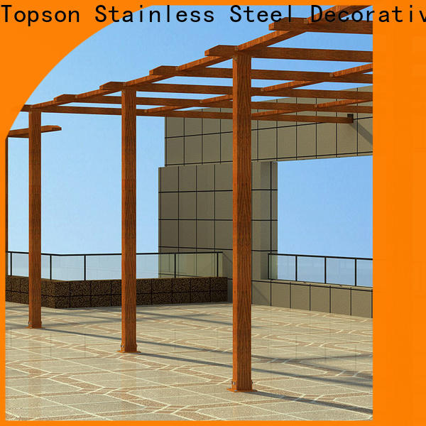stain resistance aluminum pergola reviews fixed company for park
