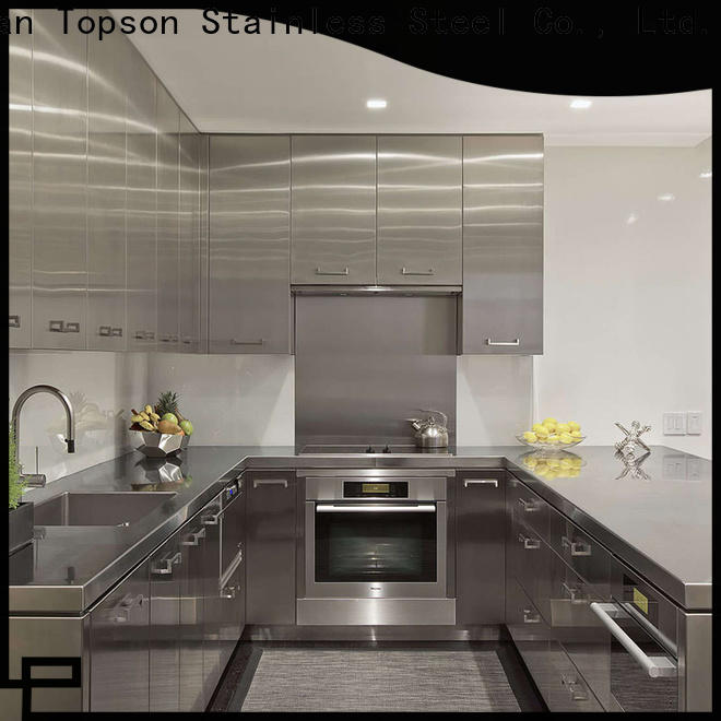 Topson cabinetstainless stainless steel kitchen cabinets for sale for interior