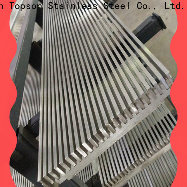 Topson gratingstainless stainless steel expanded metal grating Supply for hotel