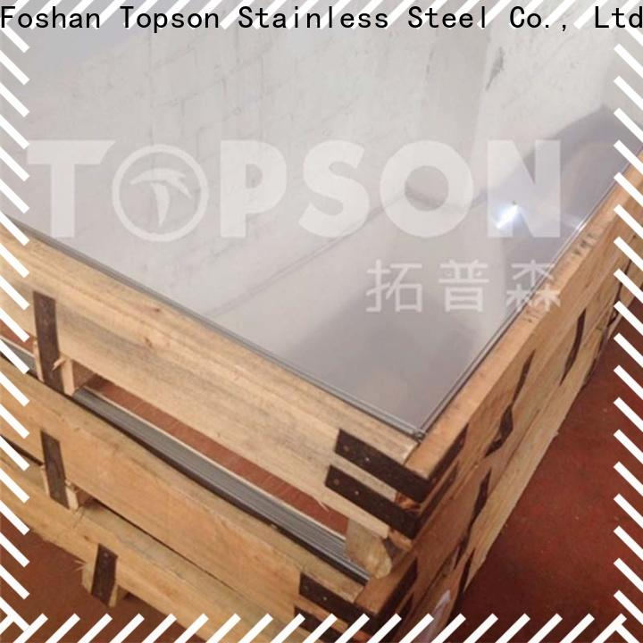 Topson stainless steel material company for vanity cabinet decoration