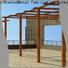 Topson aluminium curved steel pergola China for school