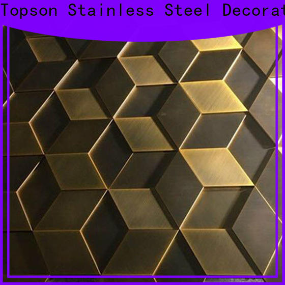 Topson Latest stainless steel wall covering kitchen for wholesale for lift
