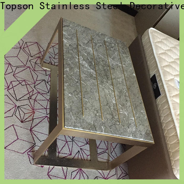 Topson metal patio furniture metal table Suppliers for kitchen cabinet for bathroom cabinet decoratioin