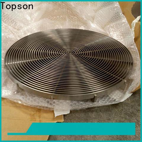 Topson elegant serrated aluminum grating manufacturers for office