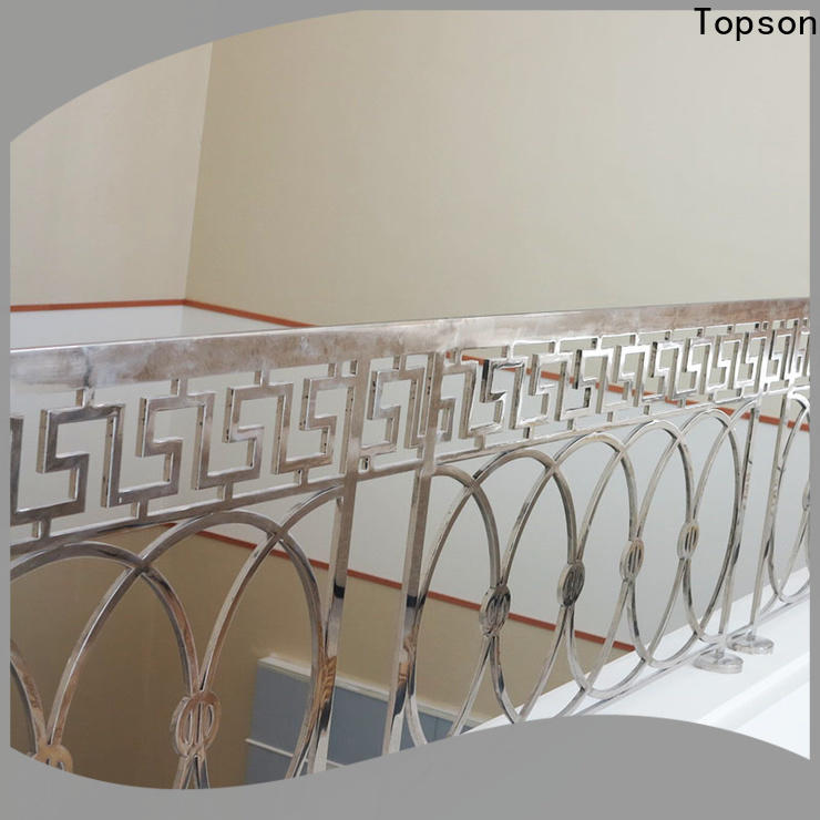 Latest stainless steel cable railing interior railings Suppliers for room