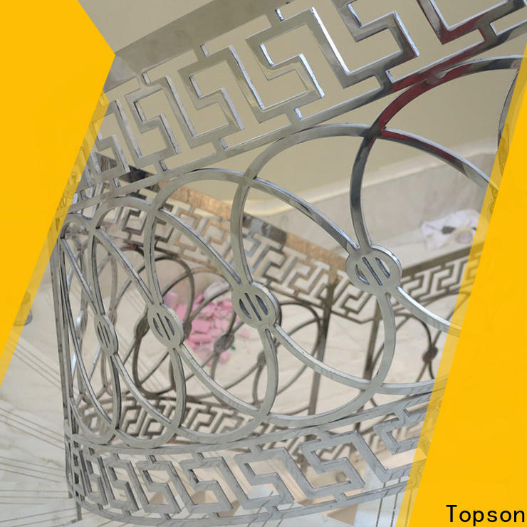 Topson high-quality stainless steel pipe railing for hotel