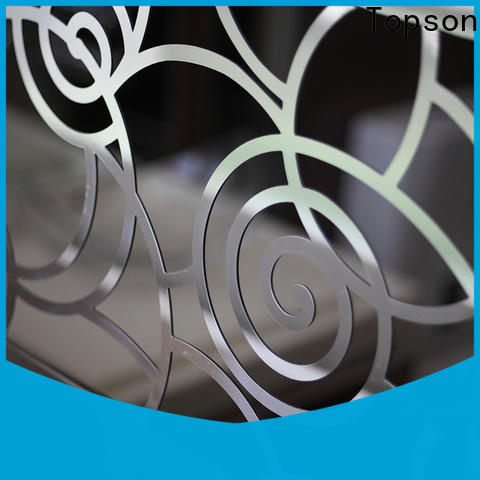 Topson handrail stainless railing components for mall