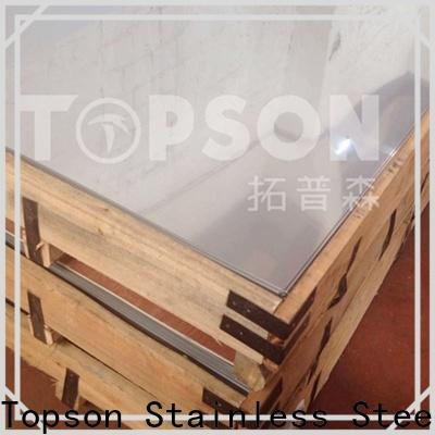 Topson color vibration finish stainless steel for business for kitchen