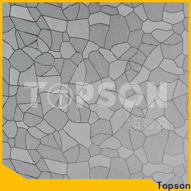 Topson stainless stainless steel sheet suppliers factory for furniture