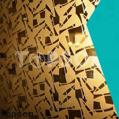 luxurious mirror finish stainless steel sheet antifingerprint for business for handrail