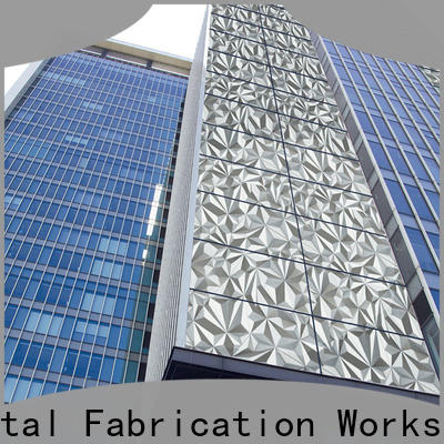 brushed steel plate & profile cladding suppliers
