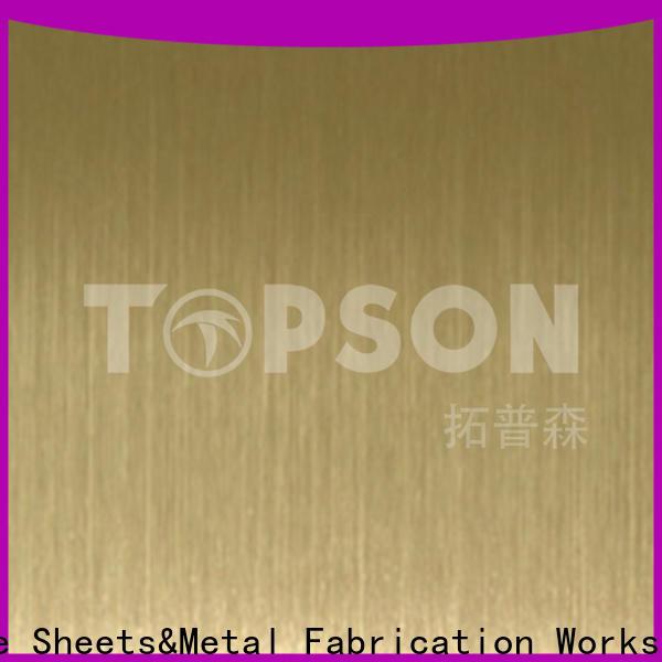 decorative sheet steel & metal work custom
