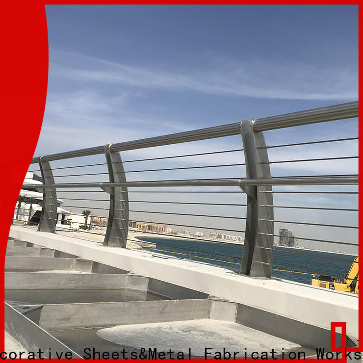 price of steel railing for balcony & stainless banister