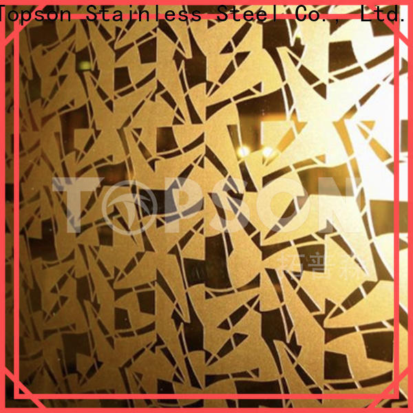 gorgeous brushed stainless steel sheet sheetmirror Supply for vanity cabinet decoration