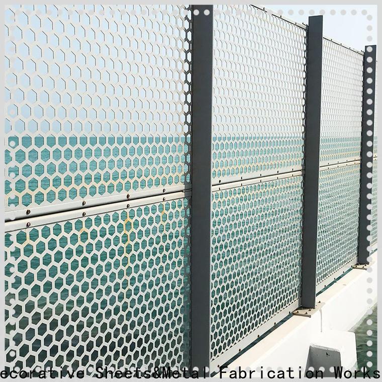 stainless steel expanded metal grating & mashrabiya design pattern