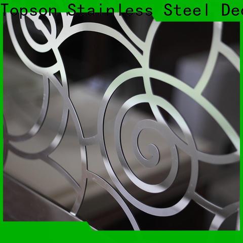 rope railing brackets & stainless steel door knob set