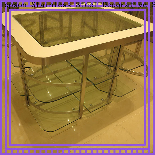 patio furniture metal table & stainless steel door latches