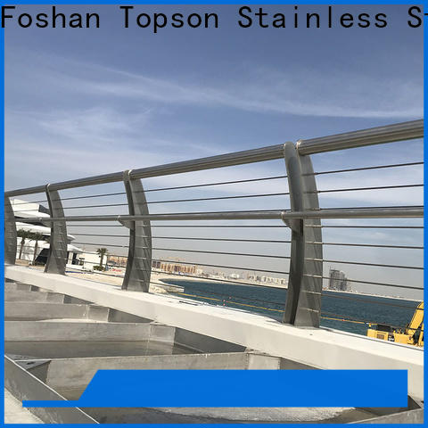 stainless steel wall rail & cable railing systems for decks cost
