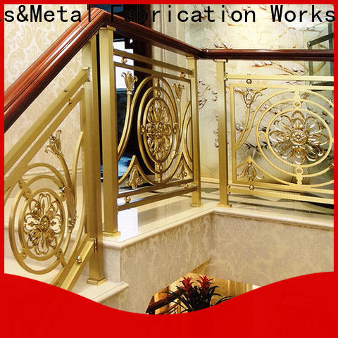 Topson curved stainless steel balcony railing suppliers manufacturers for building