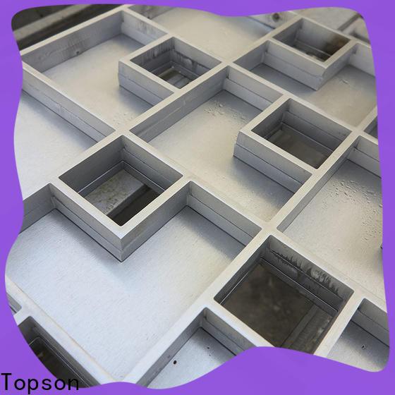 Topson good looking steel floor drain grates Suppliers for bridge corridor for area building
