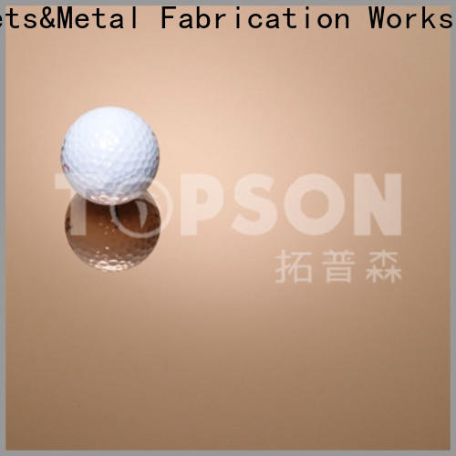Topson embossed stainless steel material Supply for elevator for escalator decoration