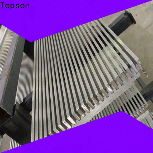 Topson cutting metal grating prices for business for mall